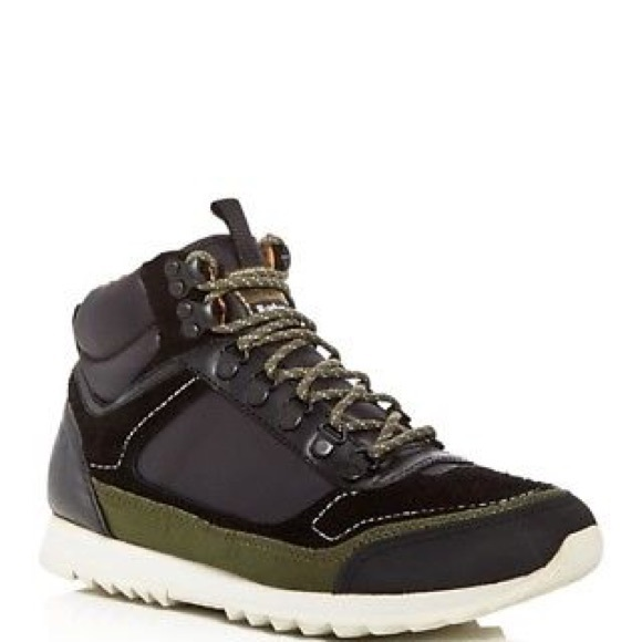 NEW Barbour Highlands Mid Top Sneaker Hiking Boots 485fc794e